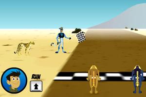 机器猎豹赛跑