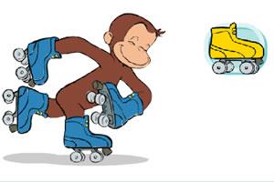 小猴的旱冰鞋