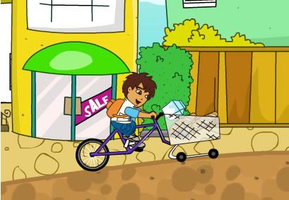 迭戈购物自行车