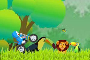 哆啦A梦骑摩托