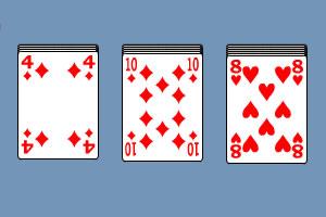 纸牌小游戏