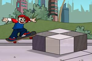 花样滑板少年