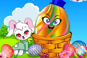 兔子和复活节彩蛋