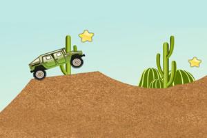 沙漠越野吉普车