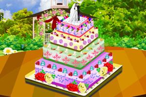 完美的婚礼蛋糕