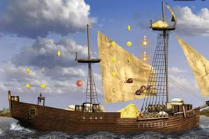 贪婪海盗收金币