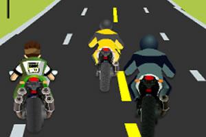 少年骇客摩托车赛