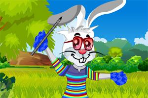 复活节疯狂兔子