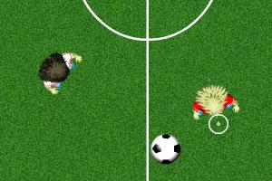 1对1足球赛