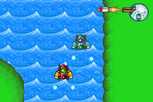 双喷汽艇赛