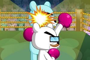 熊教授拳击赛