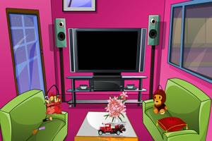 逃出粉红客厅