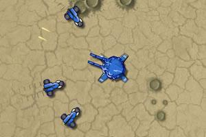 沙漠防御战