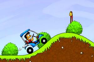 疯狂的高尔夫球车