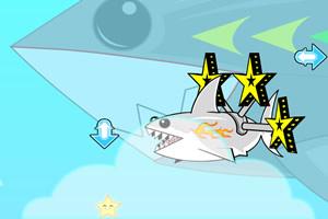 彩虹鲨鱼吃星星