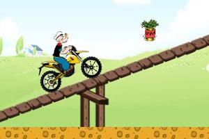 大力水手摩托骑行