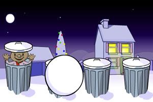 巴布打雪仗