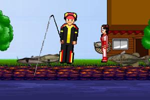 边跳舞边钓鱼