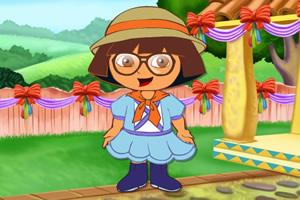 朵拉儿童节新装