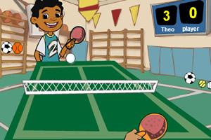 小小乒乓球赛