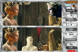 白雪公主与猎人找茬