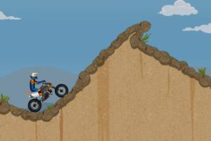 荒山越野摩托