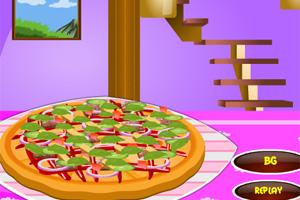 新鲜热辣披萨