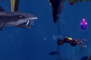 乐高海底大鲨鱼