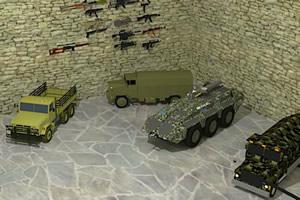 军事迷的房间