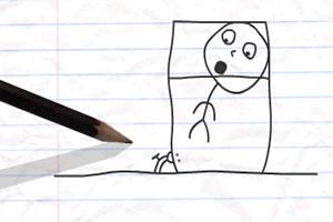 铅笔涂鸦创意动画