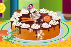 胡萝卜蛋糕装饰