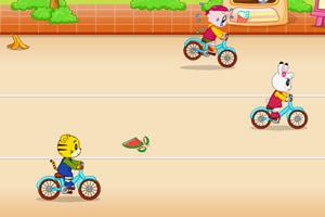 巧虎自行车比赛