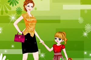 时尚母女装