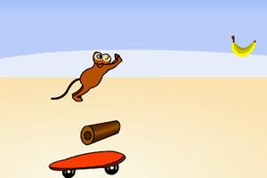 小猴玩滑板