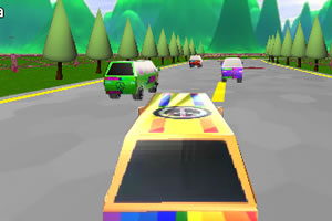 3D小货车比赛