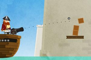 海盗打木箱