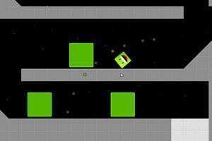 送绿方块回家4