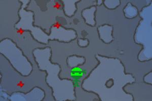 忍者神龟躲飞镖