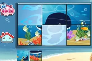 海洋生物智力拼图