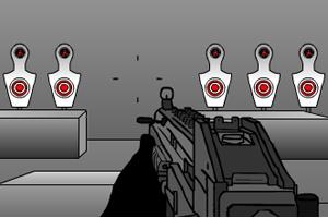 特警射击训练