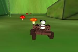 熊猫车采西瓜