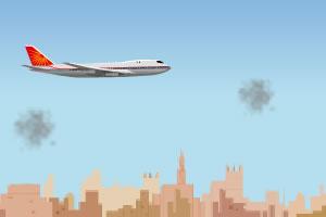 驾驶飞机避险