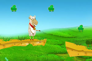 山羊的三叶草场