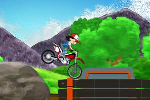 小智骑摩托