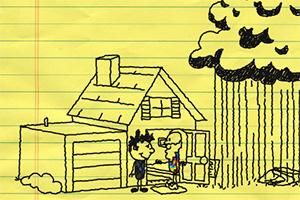 铅笔涂鸦创意动画11