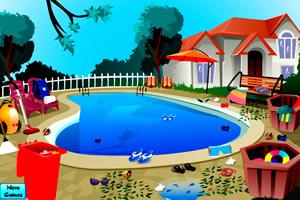清洁游泳池