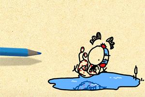 铅笔涂鸦创意动画15