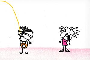 铅笔涂鸦创意动画16