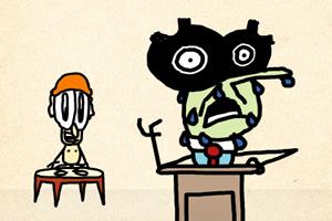 铅笔涂鸦创意动画18