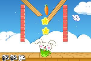 兔宝吃萝卜